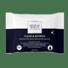 Medical Beauty CLEAR & REFRESH ČISTICÍ UBROUSKY