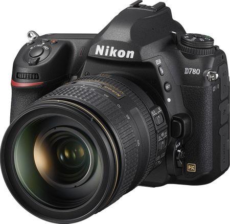 Nikon D780 DSLR fotoaparat + AF-S 24-120 MM F/4 VR objektiv