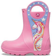Crocs FL Uncrn Ptch Rain Boot G čizme za djevojčice Pink Lemonade 206175-669