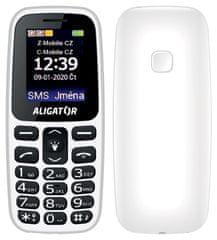 Aligator A220 Senior, bílý