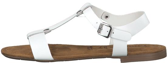 Tamaris dámske sandále 28149 41 biele