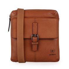 Strellson Pánská kožená taška přes rameno Blackwall 4010002750