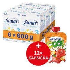 Sunar Premium 3 - 6 x 600g