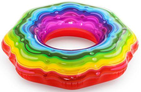Bestway 36163 Obruč na napuhavanje u duginim bojama, 115 cm