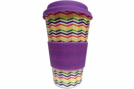 Areon 280395 Eco Bamboo Cup - Zig-Zag