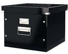 Leitz Krabice CLICK & STORE na závěsné desky, černá