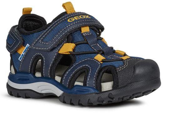 Geox chlapčenské sandále BOREALIS J020RA_014ME_C4229 31 modrá