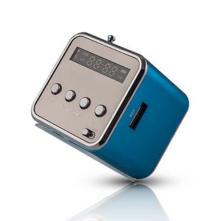 setty. Niebieski głośnik MF-100