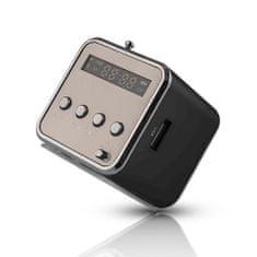setty. MF-100 fekete hangszóró