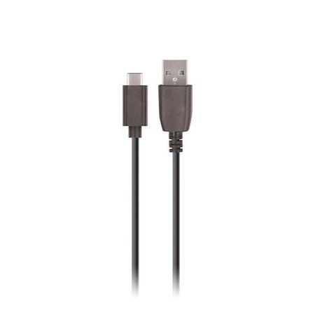 setty. Kabel USB 2m 2A typ C czarny