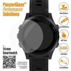 PanzerGlass SmartWatch pro různé typy hodinek, 34 mm čiré (3606)