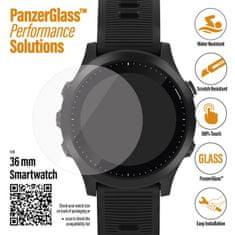PanzerGlass SmartWatch pro různé typy hodinek, 36 mm čiré (3608)