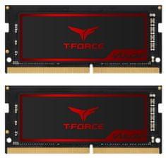 TeamGroup Vulcan 16GB Kit (2x8GB) DDR4-2666, SODIMM, CL18 memorija (TLRD416G2666HC18FDC-S01)