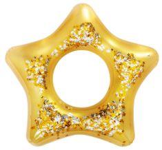Bestway 36141 Nafukovací kruh se třpytkami 91 cm Hvězda