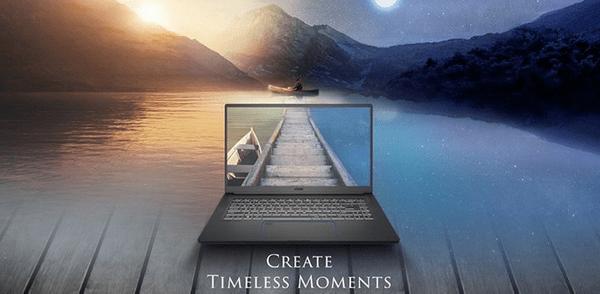 Herní notebook MSI Prestige 15 A10SC-078CZ (Prestige 15 A10SC-078CZ) výkonný design odolná konstrukce procesor Intel 10. generace grafika NVIDIA Full HD rozlišení
