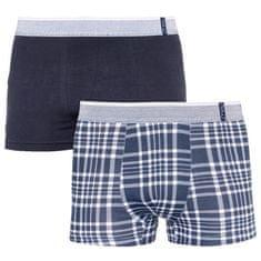 Molvy 2PACK Pánské boxerky vícebarevné (KP-067-BEU)