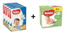 Huggies Ultra Comfort 5 Jumbo (11-25 kg) 168ks (4x42 ks) - mesačné balenie