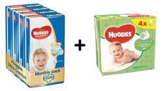 Huggies Ultra Comfort 3 Jumbo (5-9 kg) 224 db (4x56 db) - Havi csomagolás