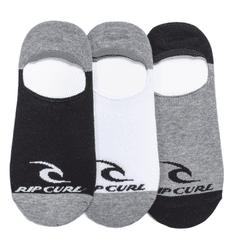 Rip Curl pánske trojité balenie ponožiek Icon Invisible Socks