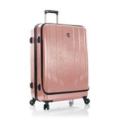 Heys Skořepinový cestovní kufr EZ Access L Rose Gold 128 l