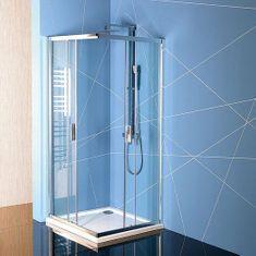 POLYSAN EASY LINE čtvercová sprchová zástěna 900x900mm, čiré sklo (EL5115)