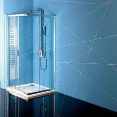 POLYSAN EASY LINE obdélníková sprchová zástěna 900x800mm, čiré sklo (EL5315)