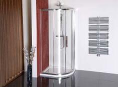 POLYSAN LUCIS LINE čtvrtkruhová sprchová zástěna 1200x900mm, L/R (DL5015)