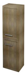 SAPHO LARITA skříňka vysoká 40x140x30cm, levá/pravá, dub graphite (LA045)
