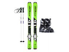Sporten půjčení lyžařského setu na celou zimu (lyže: 100 cm, lyžáky: 20,5 cm, hůlky: s holemi)