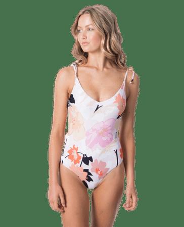 Rip Curl Damski jednoczęściowy strój kąpielowy Lake Shore Good S różowy
