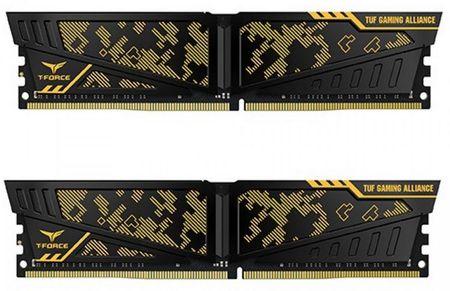 TeamGroup Vulcan TUF 16GB Kit (2x8GB) DDR4-3000, DIMM, CL16 pomnilnik (TLTYD416G3000HC16CDC01)