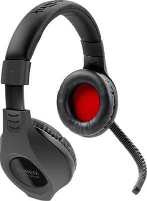 Speedlink Coniux PS4-hez gaming fejhallgató, minőségi sztereó hang, 40 mm-es átalakítók, zárt szerkezet