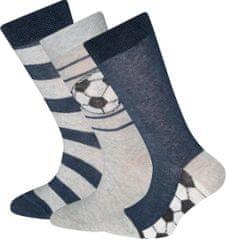 EWERS Fiú zokni, football, 3 pár