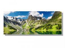 Dimex Obrazy na plátne - Horské jazero 100 x 40 cm