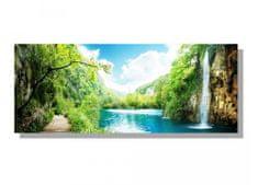 Dimex Obrazy na plátne - Lagúna 100 x 40 cm