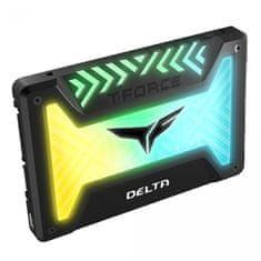 "TeamGroup DELTA SSD disk, 500GB, SATA 3, RGB, 6,35 cm (2,5"")"