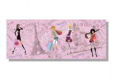 Dimex Obrazy na plátne - Parížsky štýl 100 x 40 cm