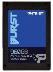 Patriot Burst 960 GB, SATA 6 Gb/s SSD disk