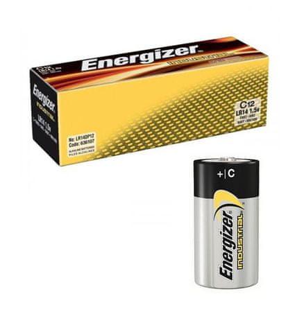Energizer Industrial alkalna baterija C (LR14), 12 kosov