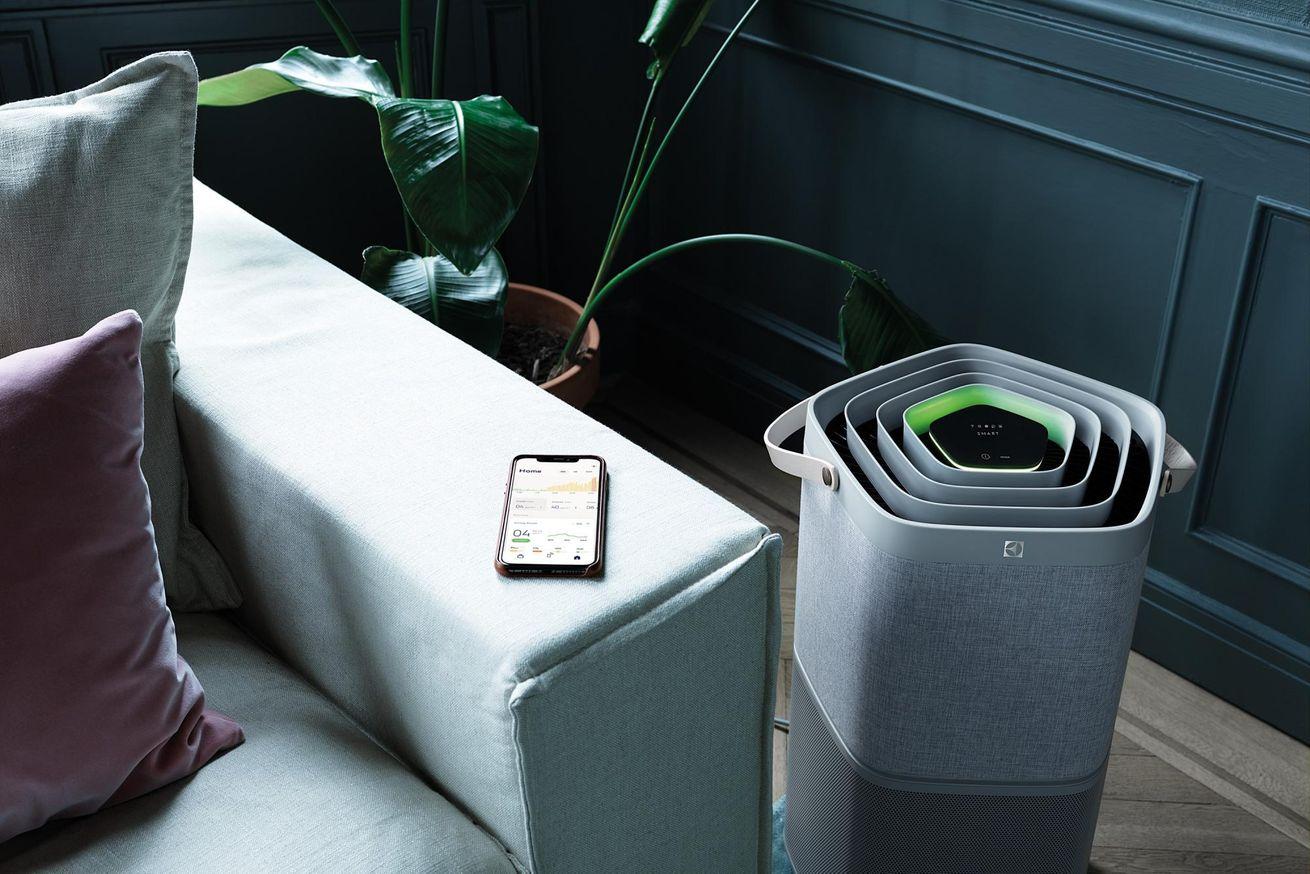 Electrolux PA91-404GY čistý vzduch