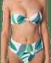 4 - Rip Curl biustonosz kąpielowy damski Palm Bay Bandeau S biały