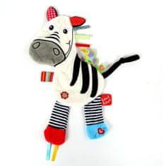 Label-Label Zebra, bieločierna