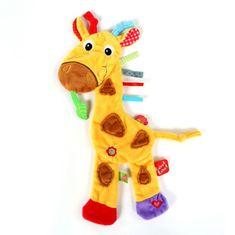 Label-Label Žirafa, žltá