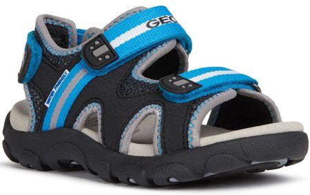 Geox sandały chłopięce STRADA J0224B_0CE14_C0035 33 czarne