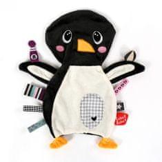 Label-Label Pinguin, sivobiela