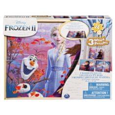 Frozen Ledové království 2 dřevěné puzzle