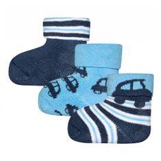 EWERS chlapčenské ponožky set 3 ks auto