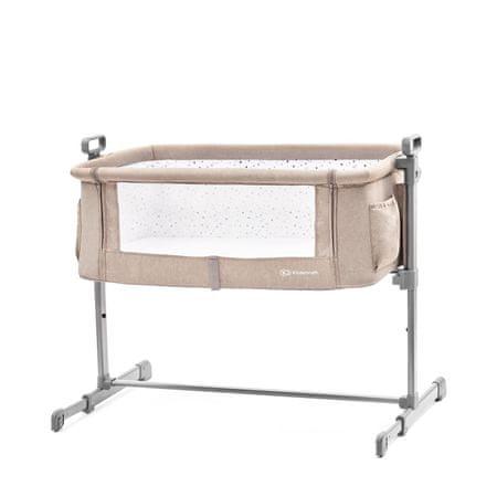 KinderKraft otroška postelja NESTE Beige