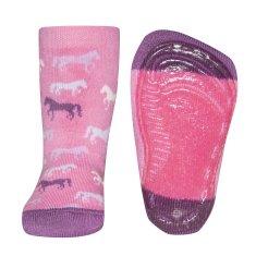 EWERS dievčenské protišmykové ponožky koník