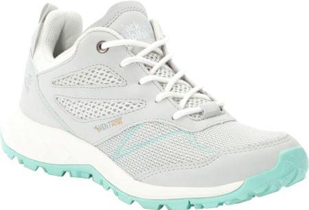 Jack Wolfskin női cipő Woodland Vent Low W (4039251-6145) 39,5 szürke